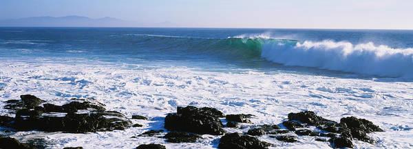 Baja California Peninsula Wall Art - Photograph - Waves Breaking On The Coast, Baja by Panoramic Images