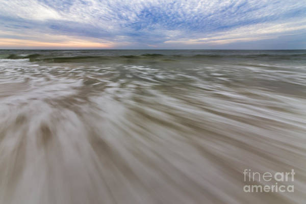Port St. Joe Photograph - Waves In Motion by Twenty Two North Photography