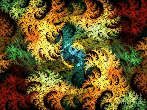 Digital Art - Waves Of Change by Michal Dunaj