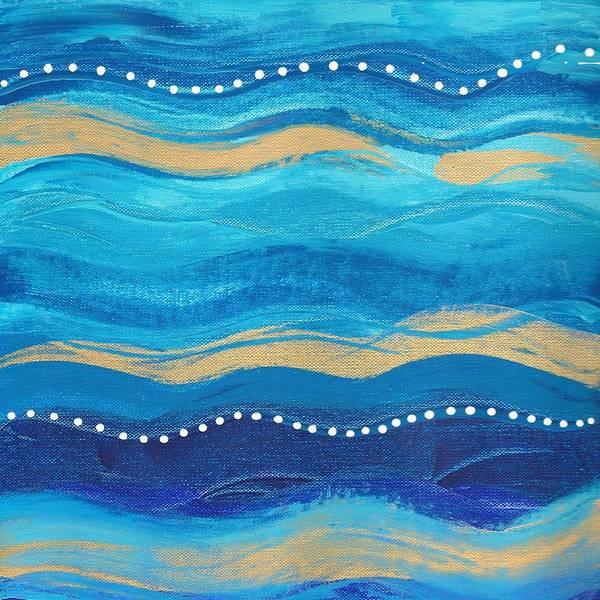 Waves Of Grace  Art Print