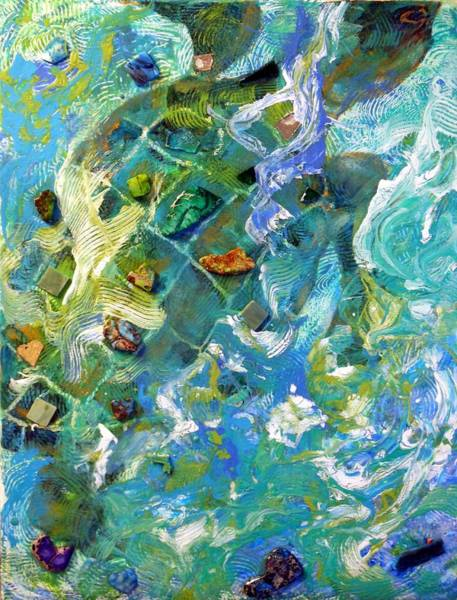 Painting - Waves Of Life by Pam Halliburton