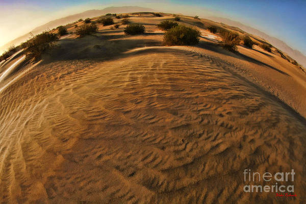 Photograph - Waves Of Mesquite Dunes Death Valley  by Blake Richards