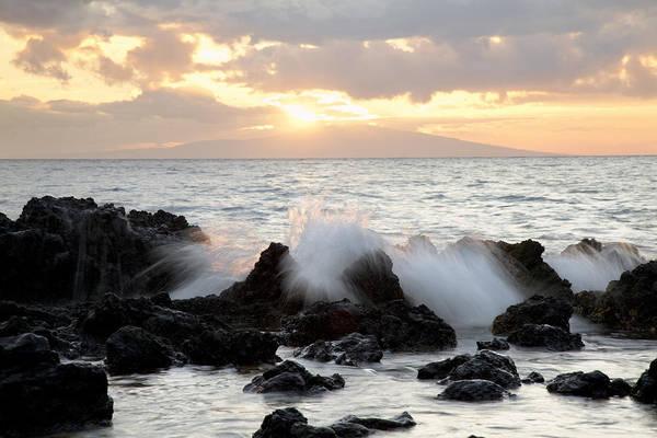 Wall Art - Photograph - Waves On Makena Rocks by Jenna Szerlag