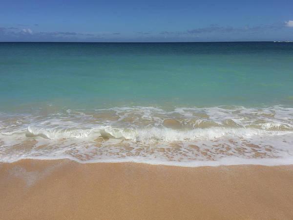 Photograph - Waves On The Beach by Teresa Wilson