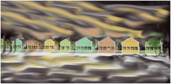 Photograph - Waves Over Naswa by Wayne King