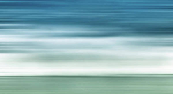 Soothing Photograph - Waves by Wim Lanclus