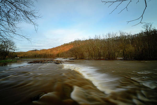 Photograph - Wavy River by Michael Scott
