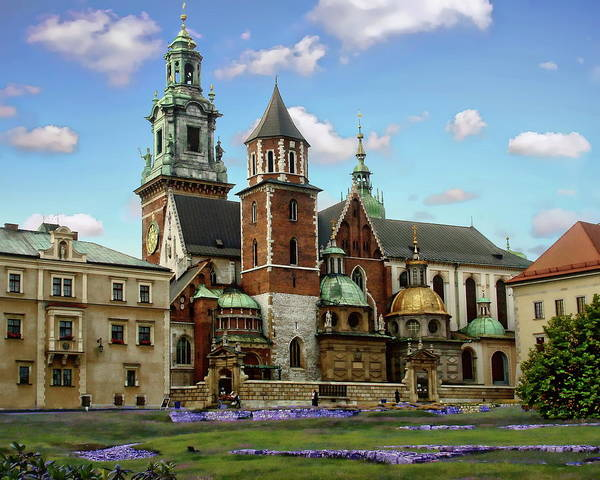 Photograph - Wawel Cathedral by Anthony Dezenzio