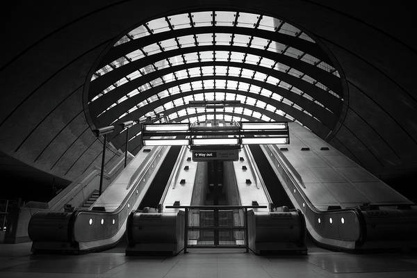 Subway Wall Art - Photograph - Way Out by Ivo Kerssemakers