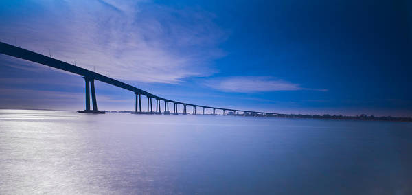 Coronado Photograph - Way Over The Bay II by Ryan Weddle