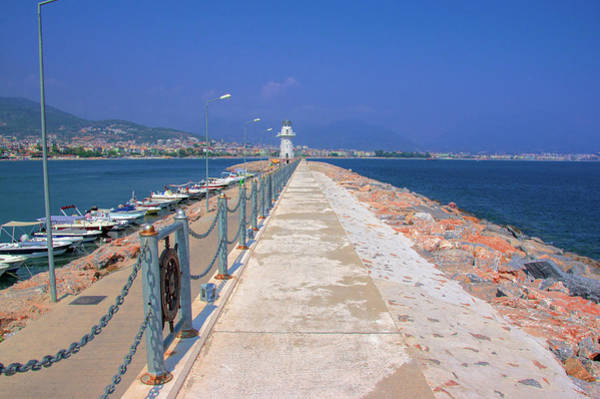 Photograph - Way To The Lighthouse Of Alanya by Sun Travels