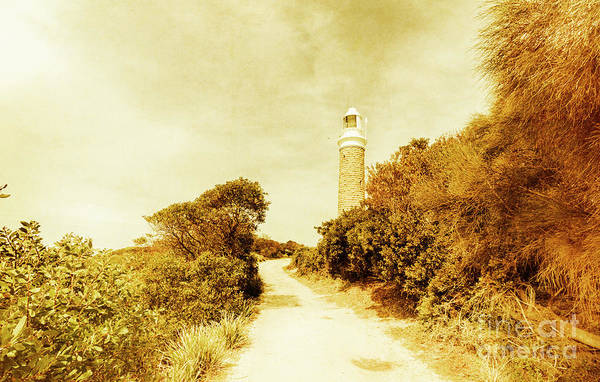 Shore Photograph - Wayback Beacon by Jorgo Photography - Wall Art Gallery