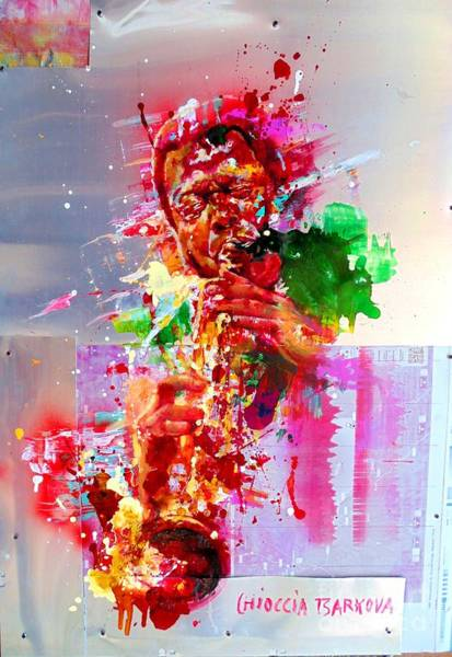 Wall Art - Painting - Wayne Shorter by Massimo Chioccia