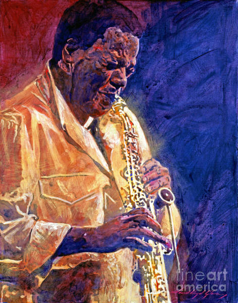 Painting - Wayne Shorter The Message by David Lloyd Glover