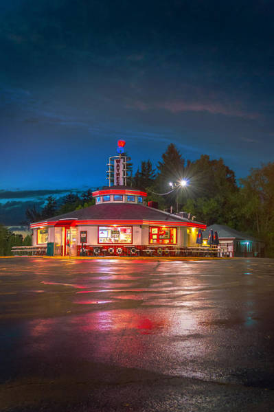 Photograph - Waynes Drive In Restaurant by James  Meyer