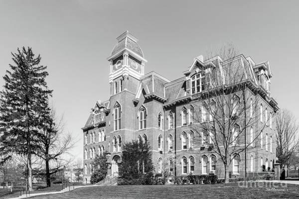 Photograph - Waynesburg University Miller Hall by University Icons