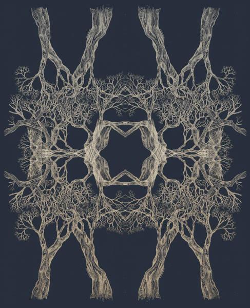 We Are All Made Of Stars Tree 12 Hybrid 1 Art Print