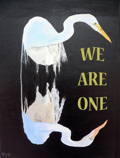 Painting - We Are One by Eric Kempson