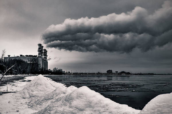 Photograph - We Energies Power Plant by James Meyer