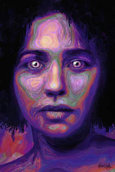 Digital Art - We Fem by Matt Lindley