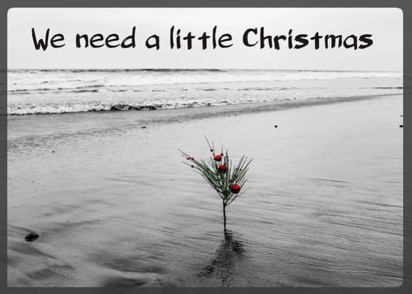 Photograph - We Need A Little Christmas by Alison Frank