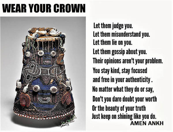 Wear Your Crown Art Print