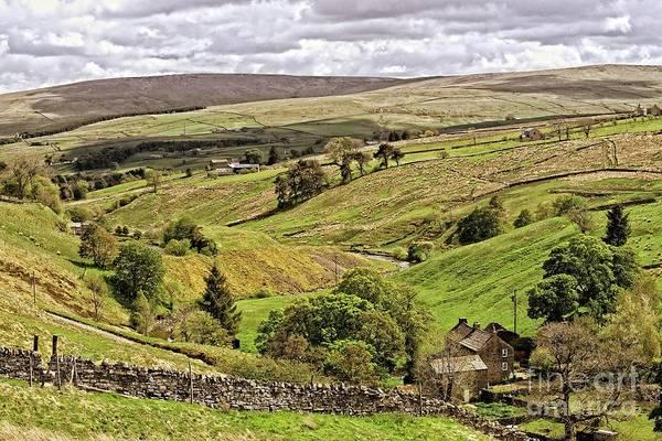 Photograph - Weardale Landscape by Martyn Arnold