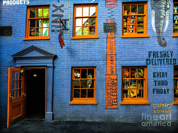 Photograph - Weasleys Joke Shop by Gary Keesler