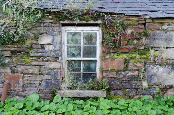 Photograph - Weather Beaten Window On Donegal Cottage by Bill Cannon
