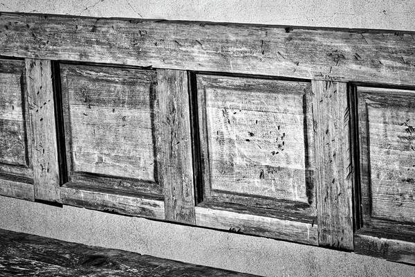 Photograph - Weathered Bench - Santa Fe by Stuart Litoff