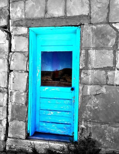 Weathered Blue Art Print