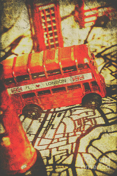 Wall Art - Photograph - Weathered Bus Routes by Jorgo Photography - Wall Art Gallery