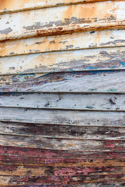 Peeling Paint Wall Art - Photograph - Weathered Paintwork by Chris Dale