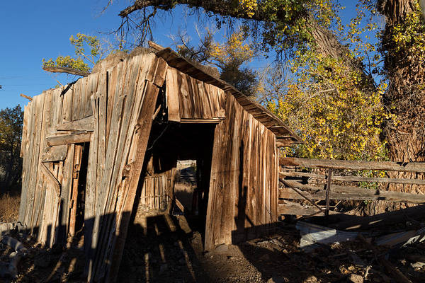 Wall Art - Photograph - Weathered Shed In The Desert by Kathleen Bishop