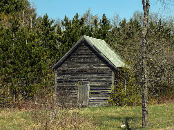 Houlton Photograph - Weathered Shed by William Tasker
