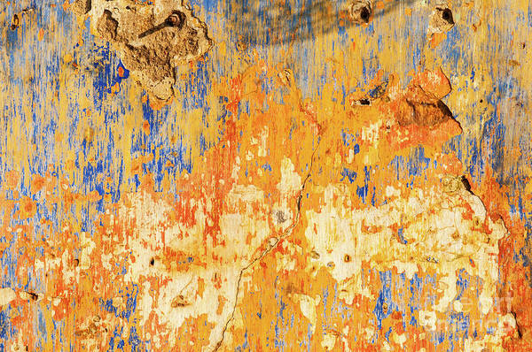 Photograph - Weathered Wall 11 by Rick Piper Photography