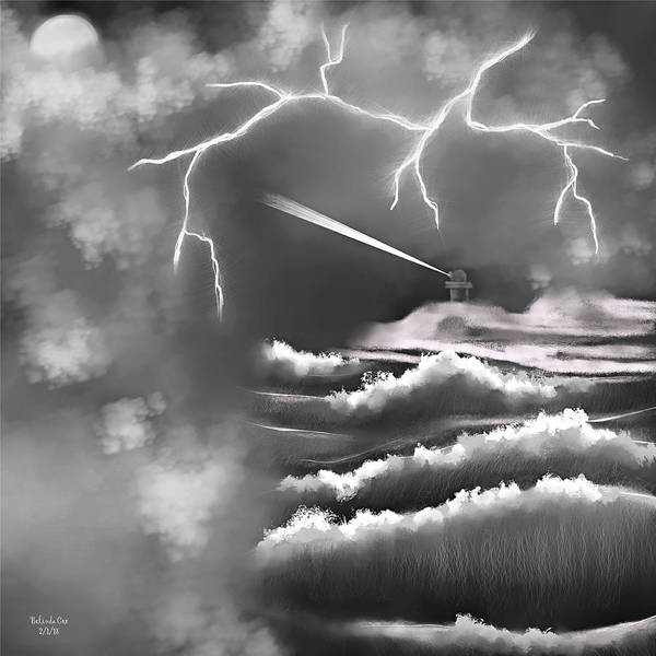 Digital Art - Weathering The Storm by Artful Oasis