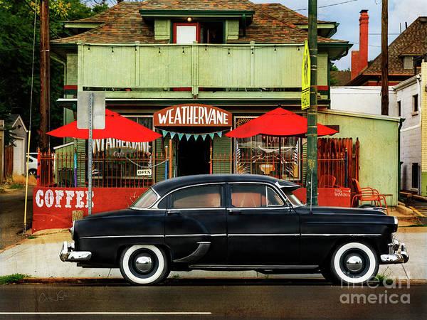 Photograph - Weathervane Car by Craig J Satterlee