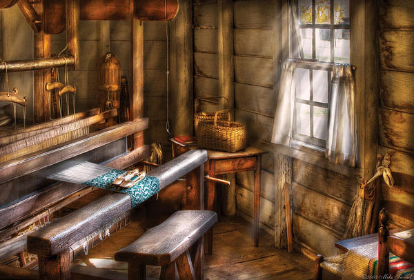 Photograph - Weaver - The Weavers Room by Mike Savad