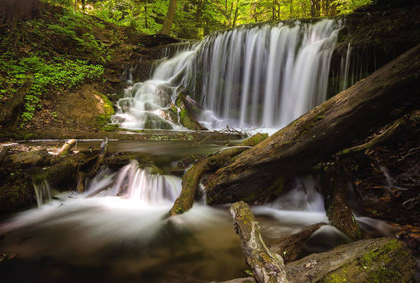 Wall Art - Photograph - Weavers Creek Falls by Cale Best