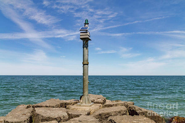 Photograph - Webster Jetty Light by William Norton
