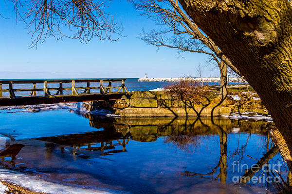 Photograph - Webster Outlet Walkway by William Norton