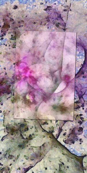 Lurksart Painting - Wed Reverie  Id 16097-182245-43472 by S Lurk