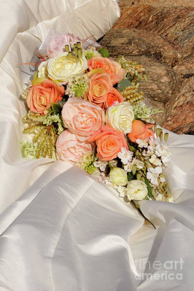 Photograph - Wedding Bouquet 01 by Rick Piper Photography