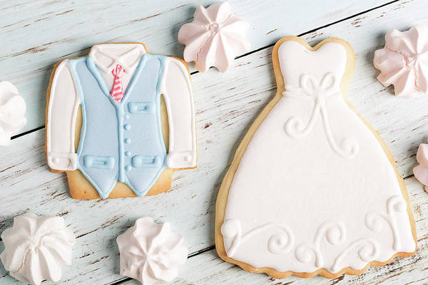 Wedding Photograph - Wedding Cookies by Vadim Goodwill