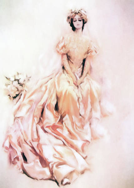 Painting - Wedding Day Romance by Isabella Howard