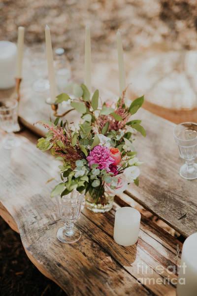 Wedding Bouquet Photograph - Wedding Decorations by Viktor Pravdica