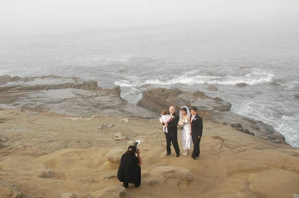 Photograph - Wedding In San Diego by Irina ArchAngelSkaya