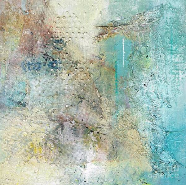 Wall Art - Painting - Wednesdays Abstract by Frances Marino