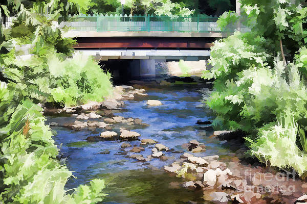 Photograph - Wee Bridge by Roberta Byram